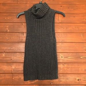 By Next Era Knit Turtleneck Sleeveless Top